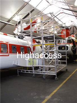 UpRight铝合金飞机检修架平台