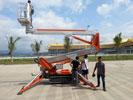 西双版纳国际机场订购我司SMX250履带式自行伟德app最新版本机